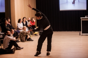 Talking Bodies Lecture. Image: Katy Green-Loughrey